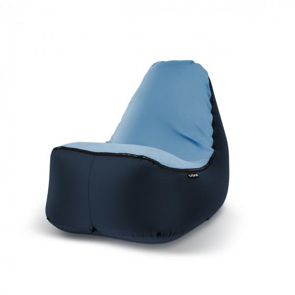 Sitzsack Outdoor dunkelblau blau
