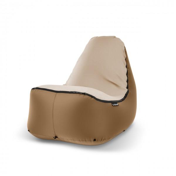 Sitzsack Outdoor bronze beige