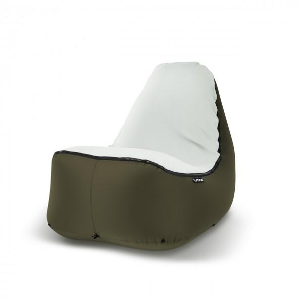 Sitzsack Outdoor dunkelgrün grün